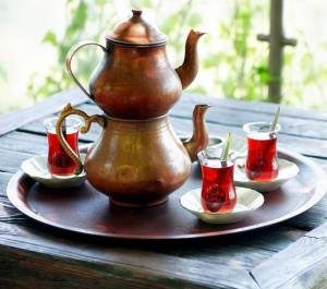 turkish-tea-caydanlik